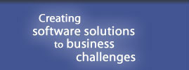 Creating software solutions to business challenges